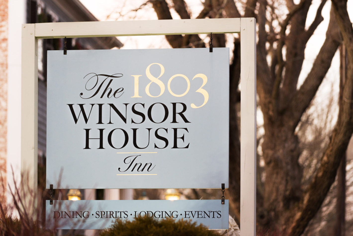 The 1803 Winsor House in Duxbury, where Scott asked Danni to marry him.