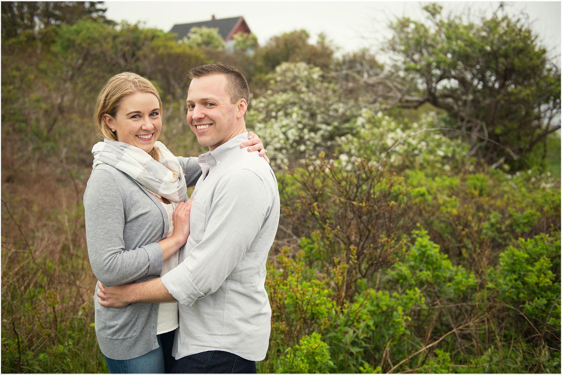 Harpswell Maine Engagement Portraits