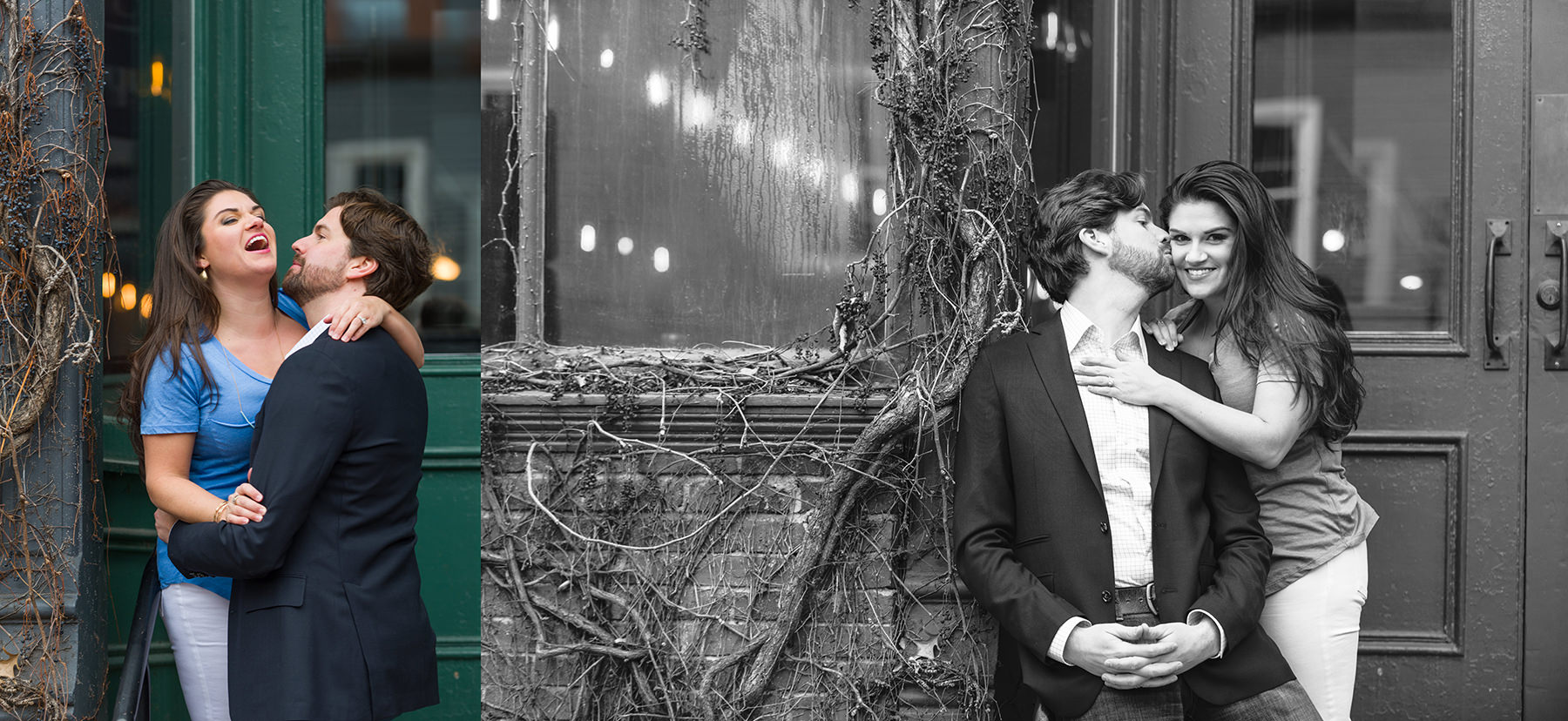 Katherine and Zach in a Portland Maine Engagement with Peter Greeno Photography
